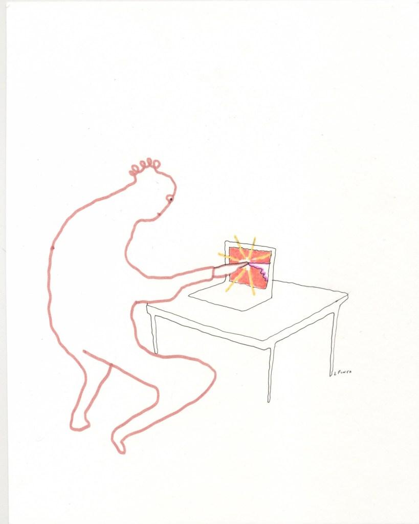 Liana Finck cartoon