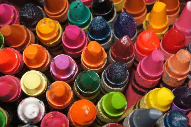 Matilda's crayons