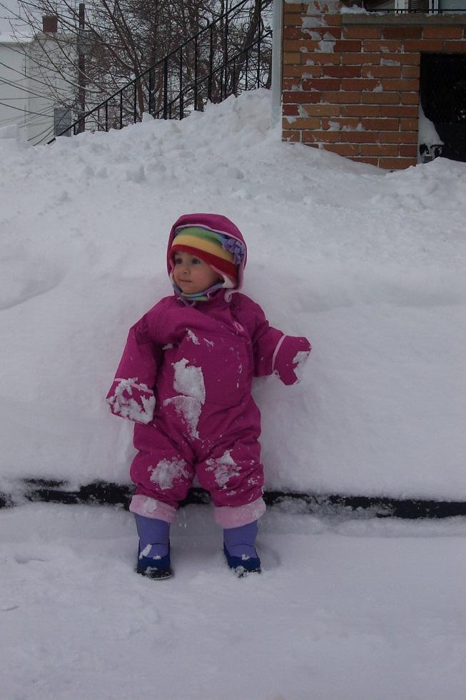 Tilda in snow