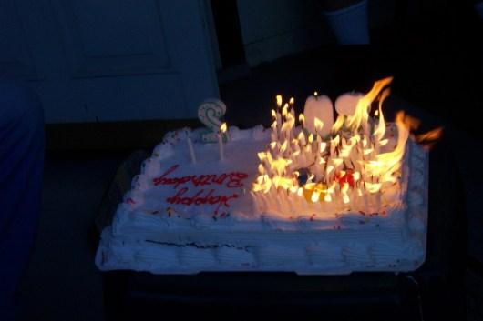 Fire cake 2