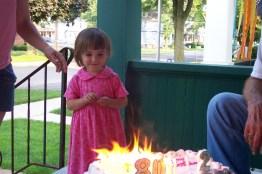 Matilda with cake