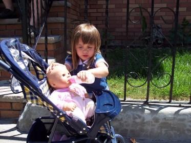 Matilda with doll
