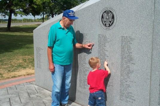 Grandpa and Paxton