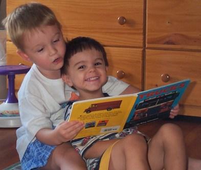 Friends read