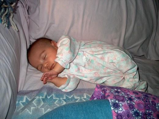Sleeping Baby Matilda