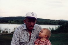 GreatGrandpa with Paxton