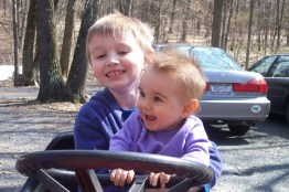 Kids on Tractor 2