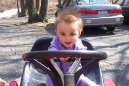 Matilda driving