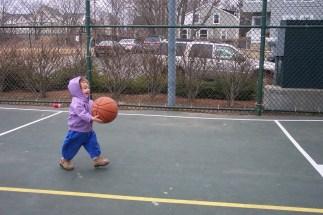 Matilda plays basketball 2004