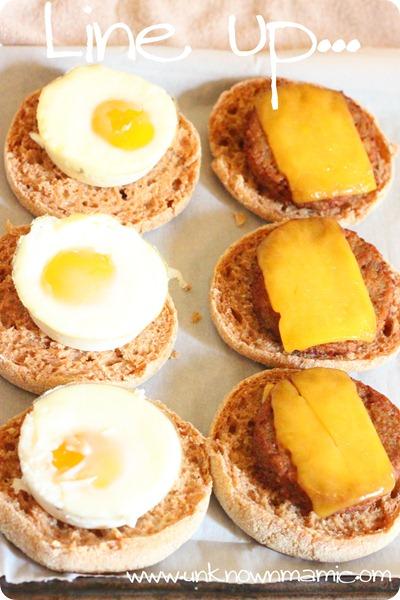 Open-face-breakfast-sandwich