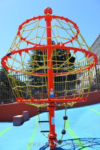 New Play Structure in Duboce Park