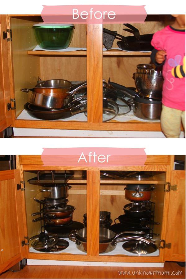 Easy kitchen updates that help declutter.
