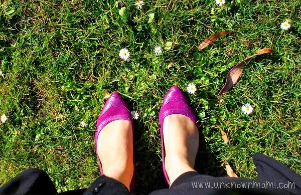 Standing-on-grass