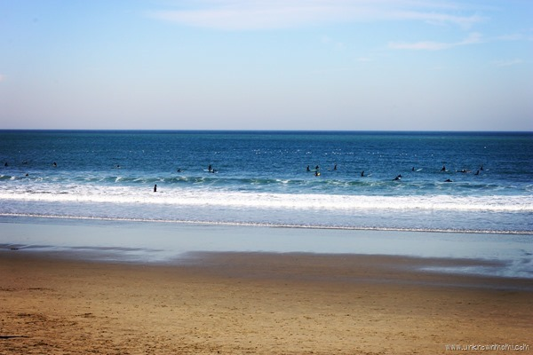 Pacifica, California beach