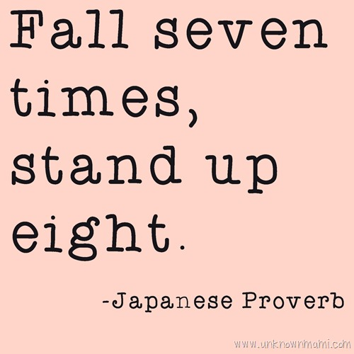 quote about getting up after falling down