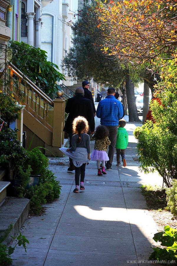 San Francisco sidewalk