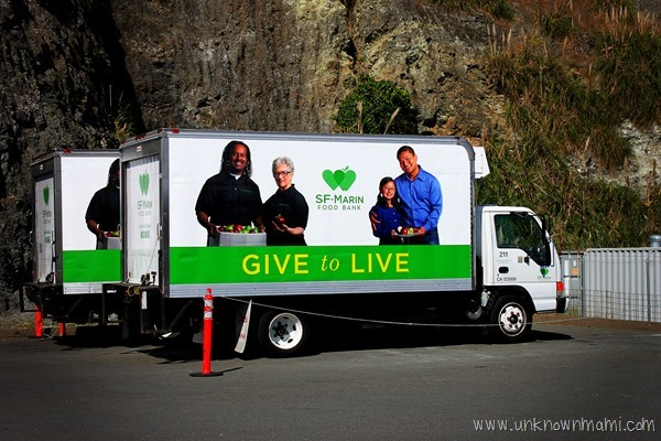 SF Marin Food Bank Truck #FightHungerTogether