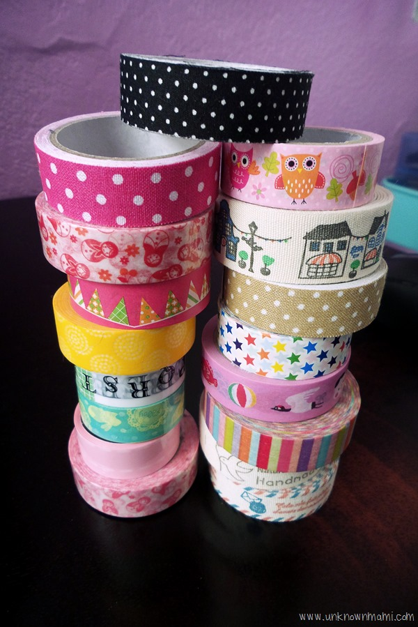 Washi Tape from Daiso