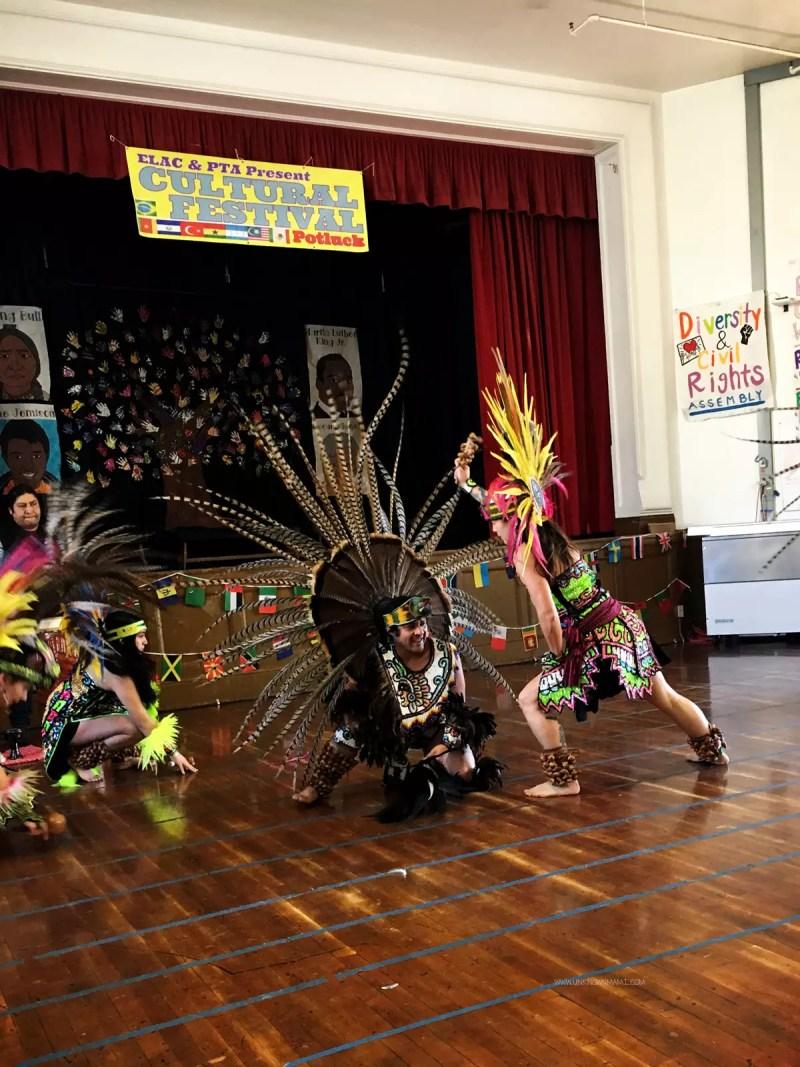 Aztec dance group in San Francisco
