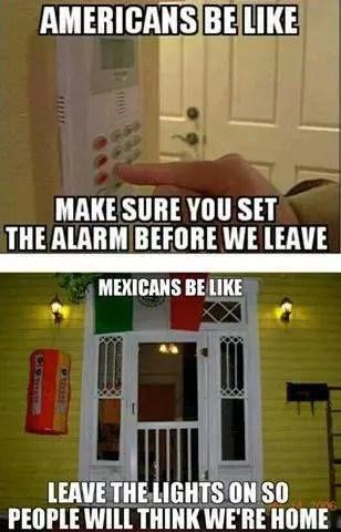 Mexican alarm meme