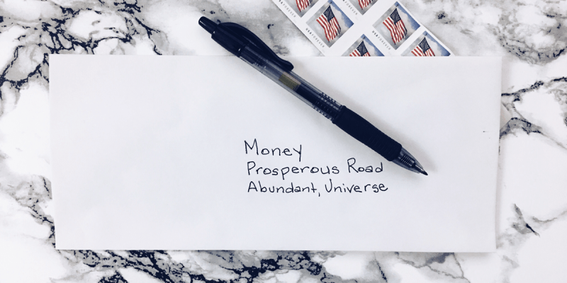 Open Letter to Money