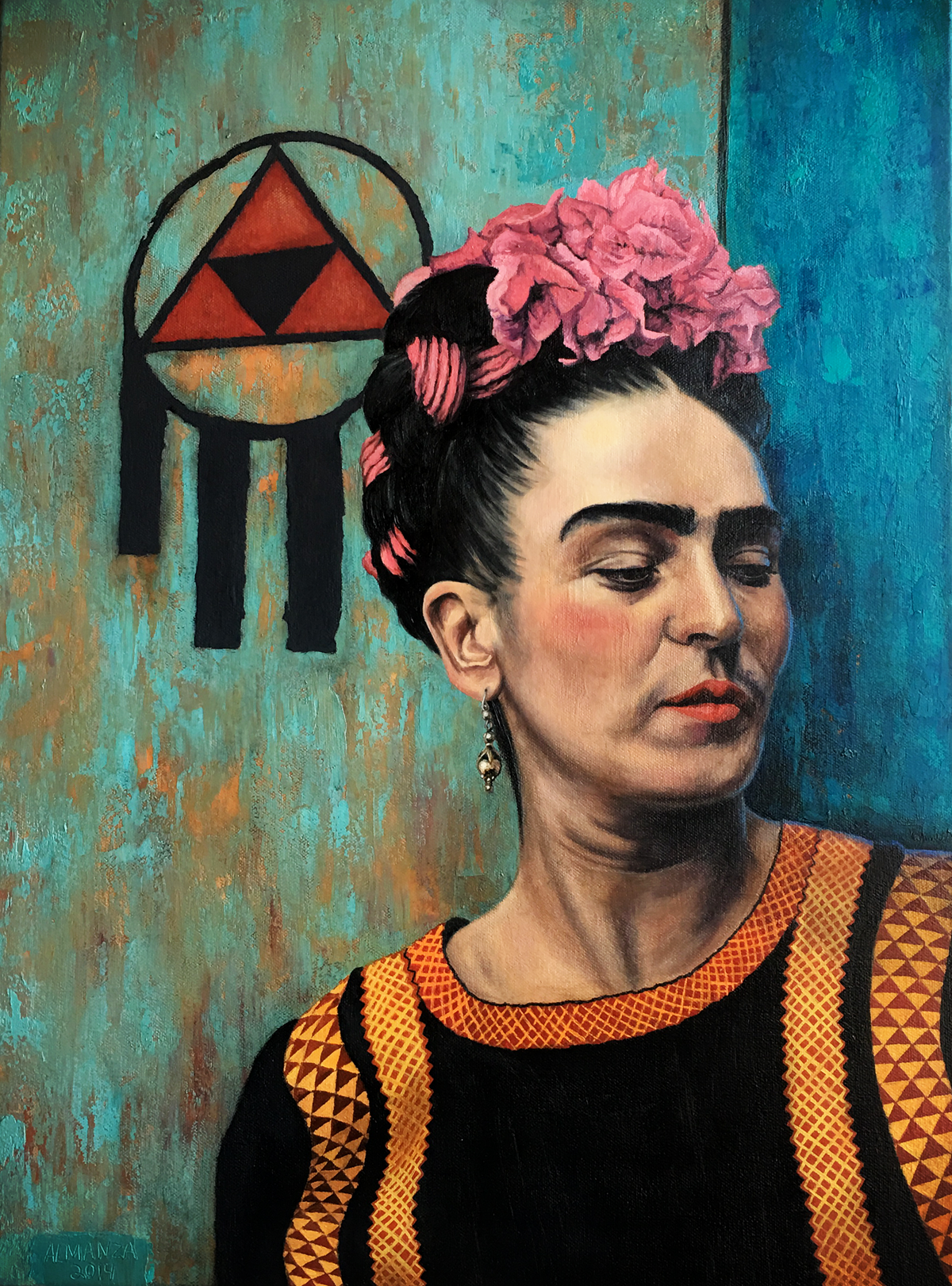 A Portrait of Frida Kahlo in Chicle and More Frida