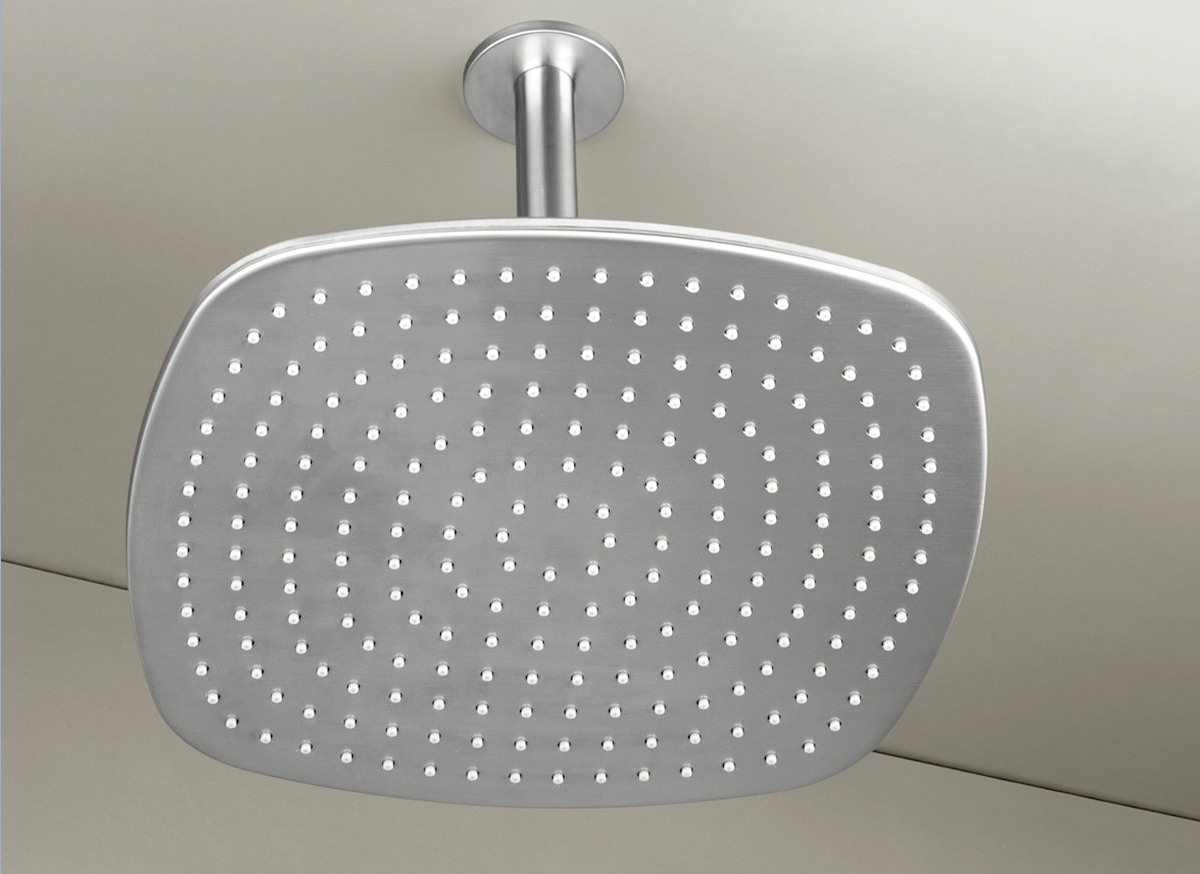 Cocoon Pb31 Ceiling Mounted Rain Shower Stainless Steel