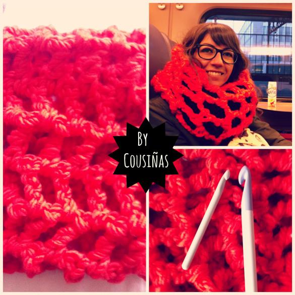 Cuello crochet XXL