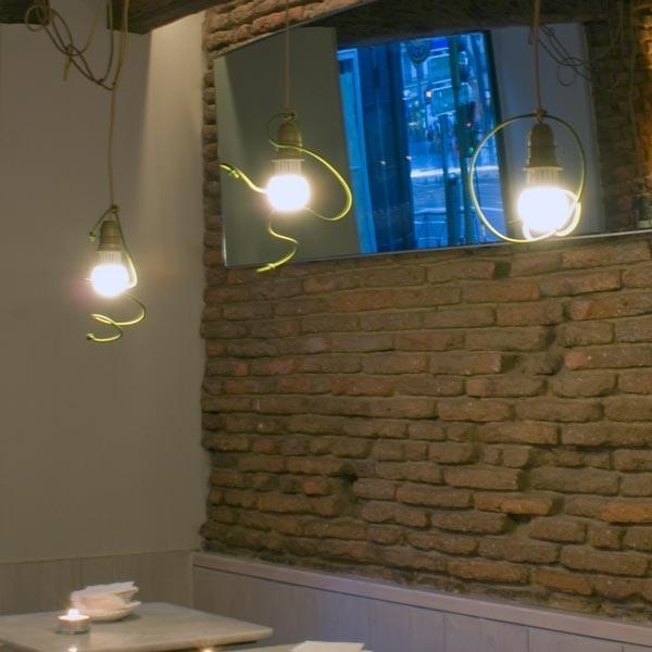 Lámpara Garabato, realizado por Enpieza
