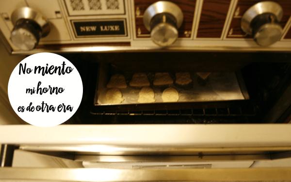 Galletas de mantequilla horno