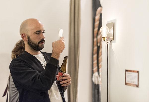 Cornucopia, lámpara diseñada por Álvaro Catalán de Ocón   By Cousiñas