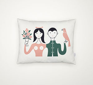 Graphic Print Pillows Vitra