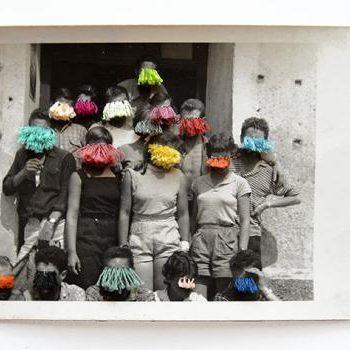 Maite Ortega, Bordado sobre fotografía