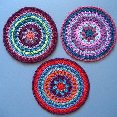Mándalas crochet