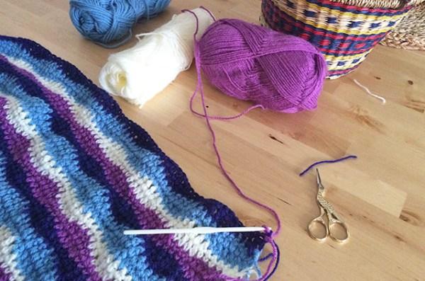 Manta para bebés en crochet