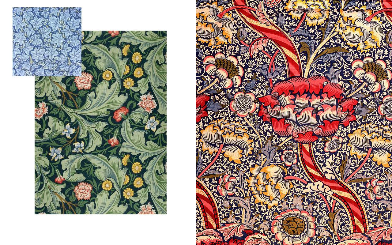Papeles pintados William Morris