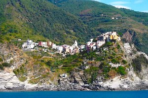 Another view of Corniglia from Ferry.