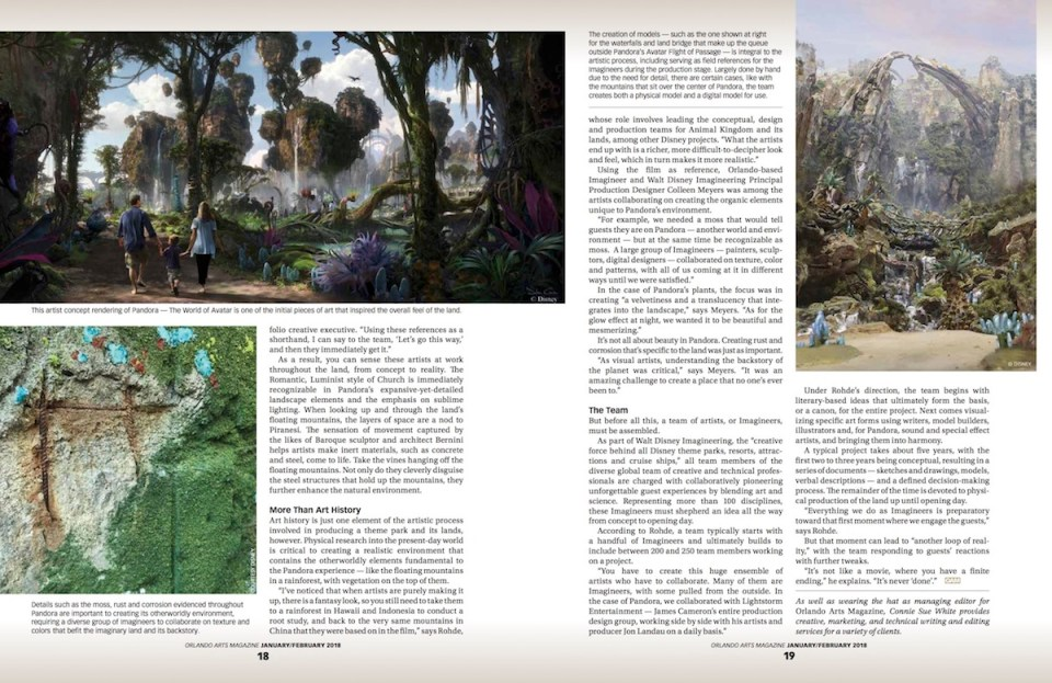 From Sketch to Reality Jan_Feb 2018 Orlando Arts Magazine 2