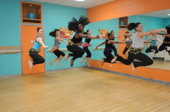 Karingah World Fusion Pan African Interval Cardio Dance action by 'Dami photo