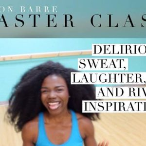 passion barre and BE masterclass with dami photo