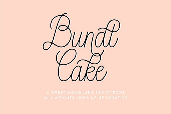 10 Must-Have Monoline Fonts