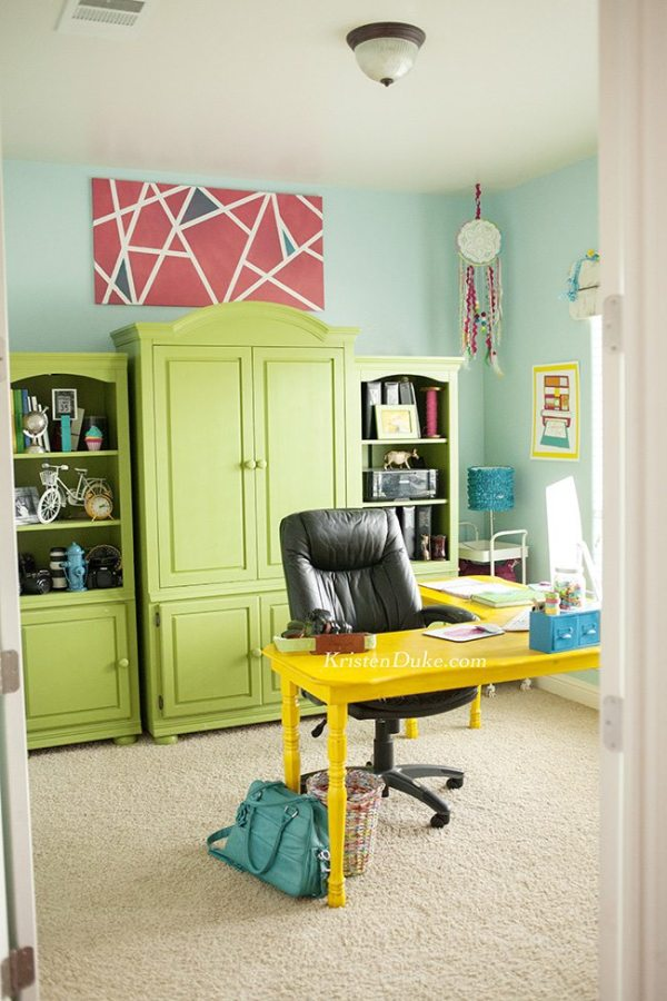 10 More Swoonworthy Craft Rooms | www.dawnnicoledesigns.com
