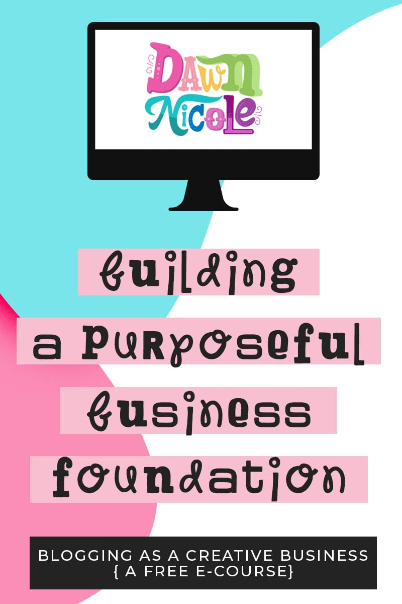 Building a Purposeful Business Foundation. Creating a Plan for your Business: Crafting a Mission Statement, Defining Your Niche, Setting Goals, Tracking Your Growth, and my list of Must-Have Blogging Tools.