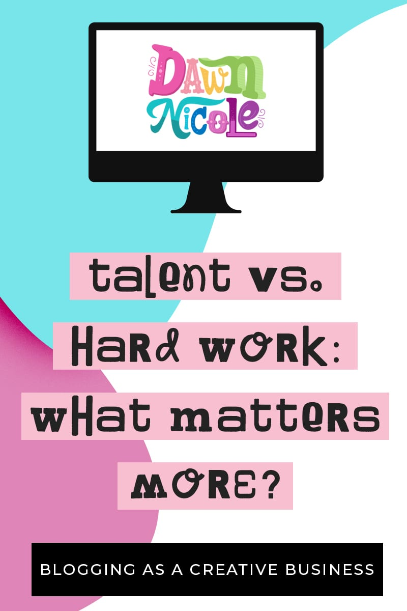 "Talent vs Hard Work: What Matters More? ""Talent is cheaper than table salt. What separates the talented individual from the successful one is a lot of hard work."" ~Stephen King"