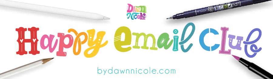 Join the Happy Email Club!