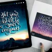 Procreate Video Lesson: Lettering on Photos