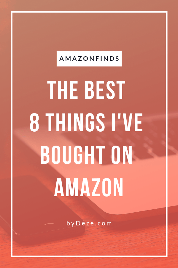 my 8 best amazon finds