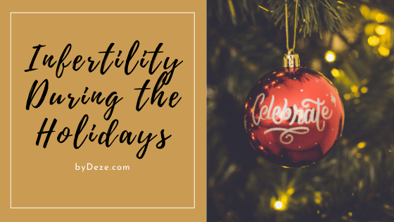 infertility during the holidays header