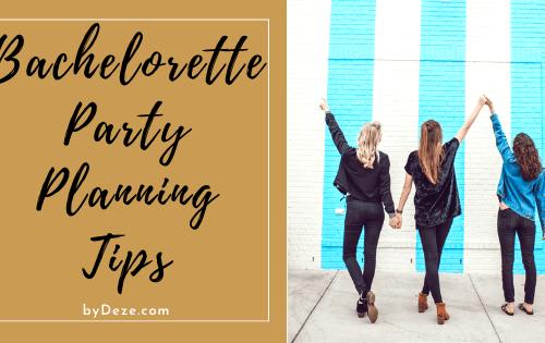 header bachelorette party planning tips