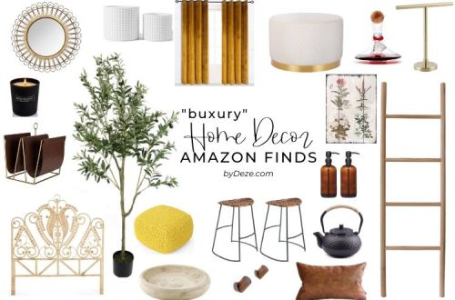 header for budget luxury amazon finds